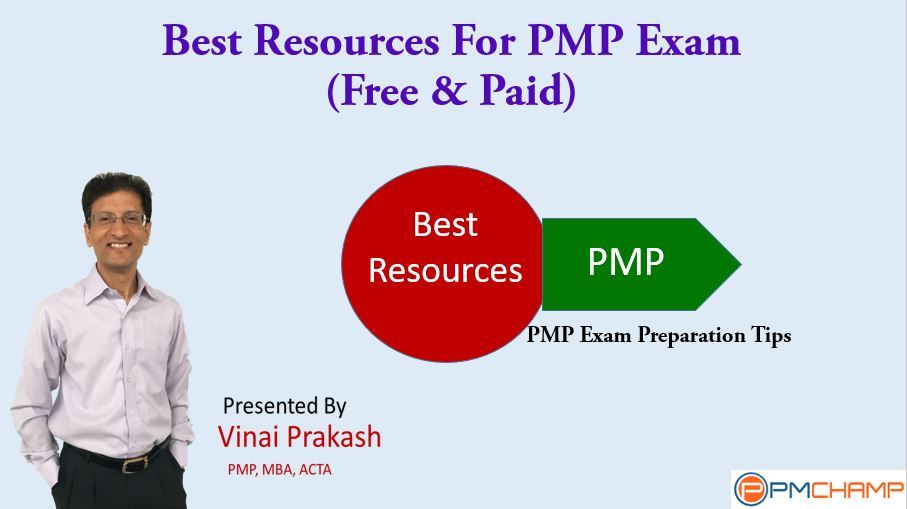 best resources for pmp exam (free & paid) – pmchamp