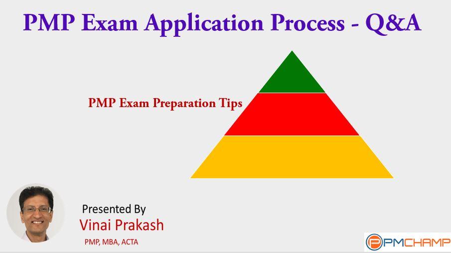 Pmp Exam Application Process Qa Pmchamp