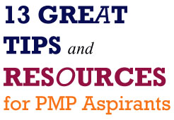 13 Tips & Resources for PMP Aspirants
