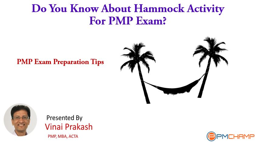Do You Know About Hammock Activity For PMP Exam?