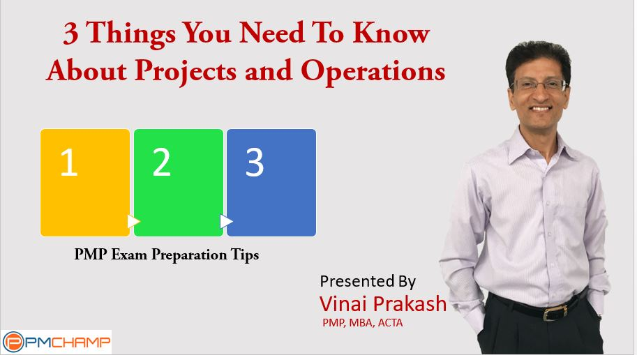 3 Things You Need to Know About Projects and Operations