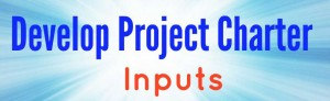 Project Charter - Inputs
