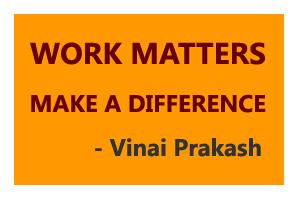 Work Matters. Make a Difference!