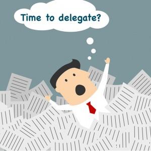 Delegate When Overwhelmed