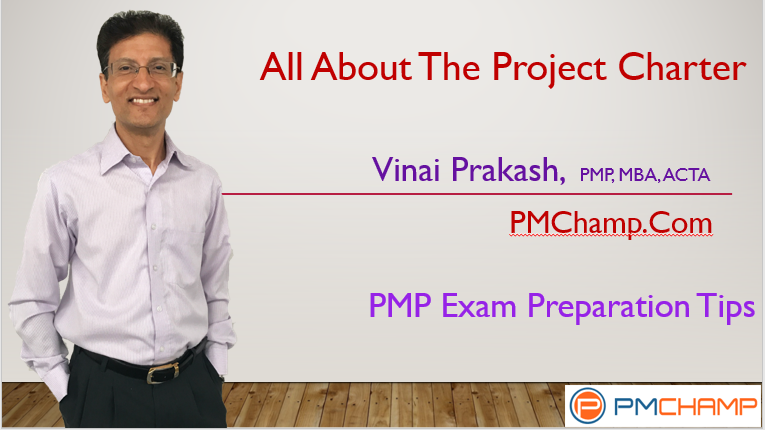 All About Project Charter For PMP Exam